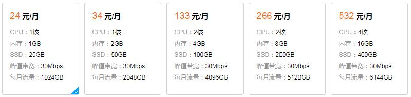 腾讯云轻量应用服务器