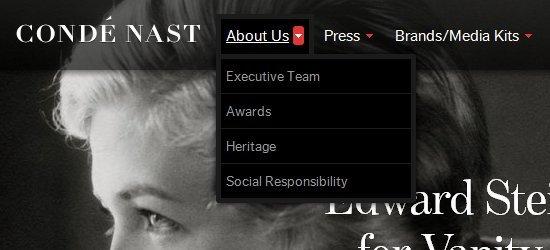 网页设计之菜单栏的设计有多重要?深圳网站设计分享